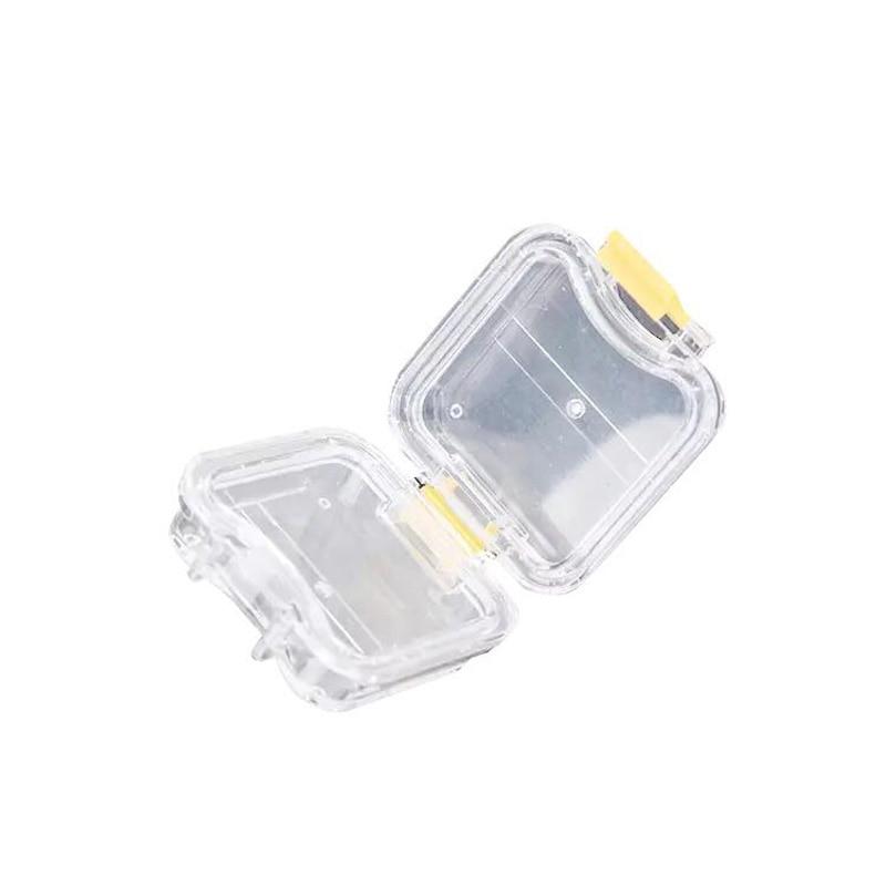 New Dental Lab Supply 10pcs Plastic Denture Tooth Box With Film High Quality Denture Storage Box Membrane Tooth Box