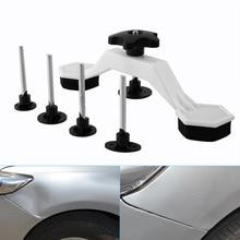 Paintless Auto Car Dent Repair Body Damage Fix Tool Pulling Bridge Puller Dent Removal Glue Tabs Hand Repair Tools Kit Universal