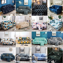 LuanQI Elastic Sofa Cover Universal 1/2/3/4Seat Cover For Corner Sofa Cover For Living Room Stretch Slipcover L Shape Sofa Cover