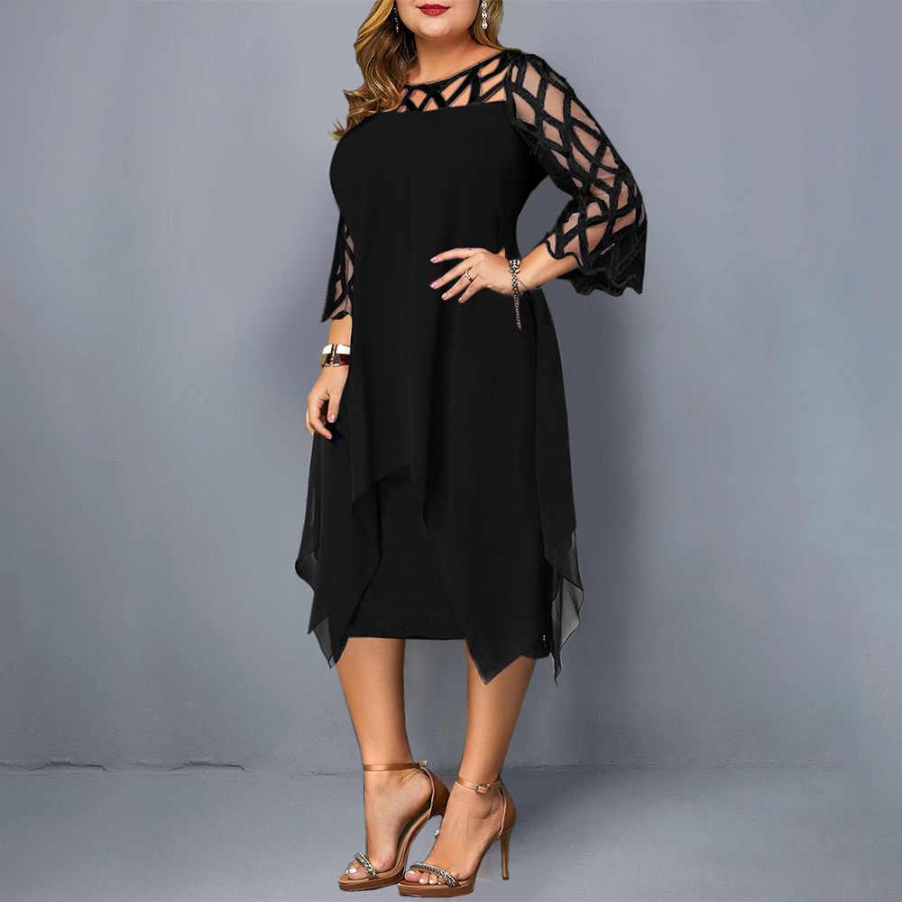 2019 женское платье, летние платья размера плюс 5XL, черное кружевное сексуальное облегающее готическое платье с открытыми плечами, винтажные Вечерние платья vestido D35
