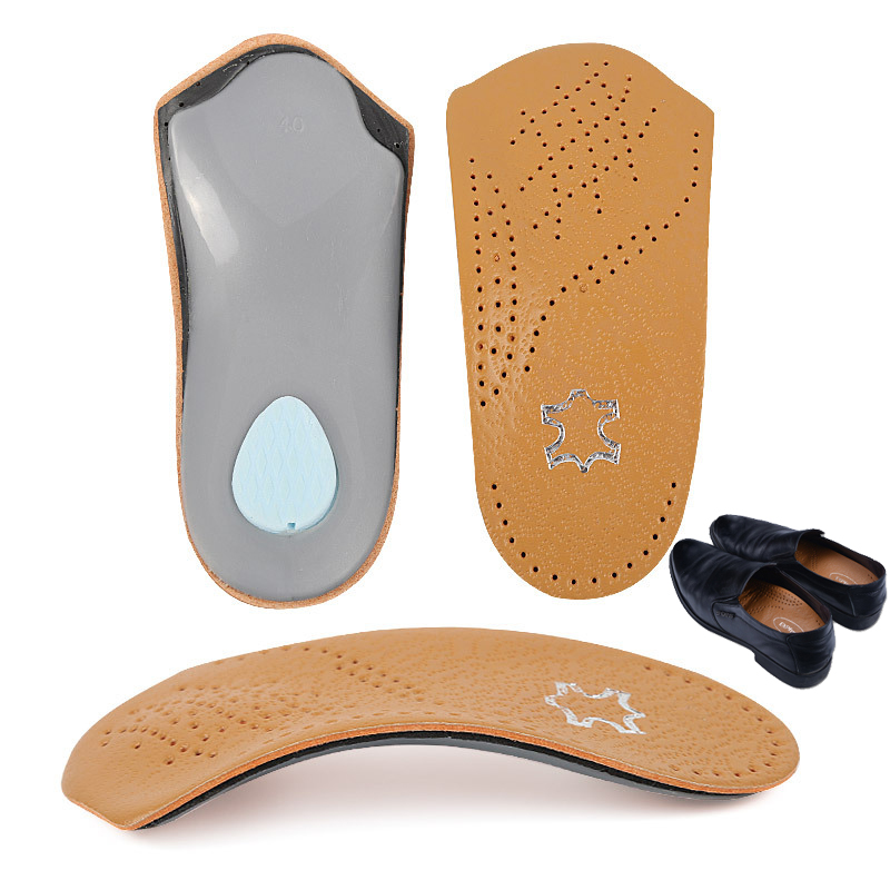 1 Pair Unisex Arch Support Orthopedic Insoles Flat Foot Correct Orthotic Insole Feet Care Health Orthotics Insert Shoe Pad New