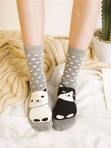 Warmer Terry-Socks Animal New-Product Christmas Cartoon Cotton Autumn/winter Lovely Kawaii