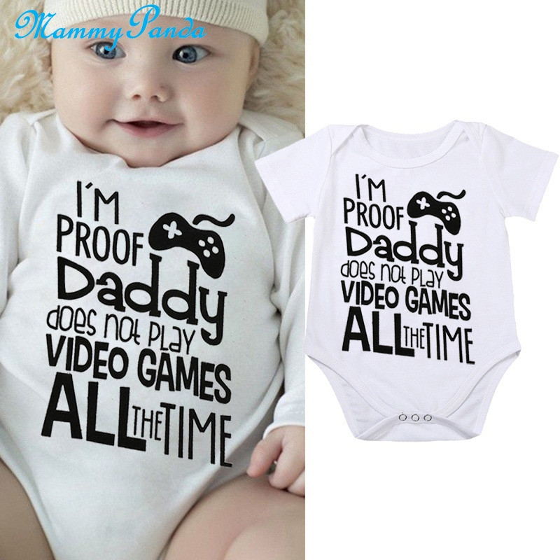 Infant Baby Boys Girls Cotton Long Sleeve This is How I Roll Bicycle Romper Bodysuit Funny Printed Romper Clothes