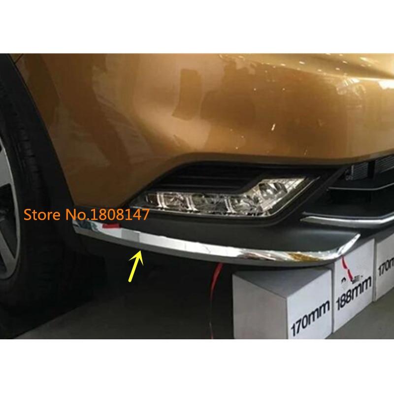 Car Styling Body Front Side Bumper Corner Light Trim Frame Abs Chrome Anti Rub Cover 2pcs For Nissan Qashqai J11 2016 2017 2018|Chromium Styling|   - AliExpress