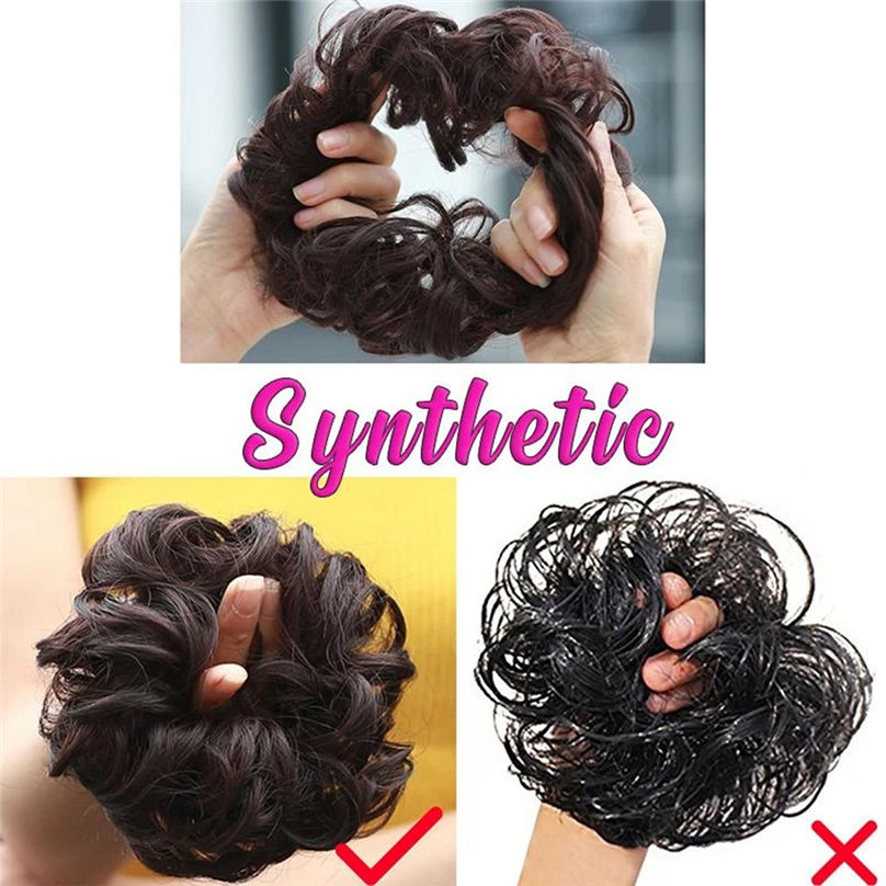 New Fashion Easy-To-Wear Stylish Hair Circle Women Girls Hair Circle Elastics Scrunchie hair accessories 3S02 (17)