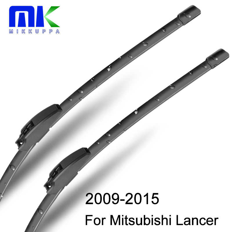 "Mikkuppa Wiper Blades For Mitsubishi Lancer 2009-2015 Pair 24""+16"" Windshield Windscreen Wiper Auto Car Accessories"