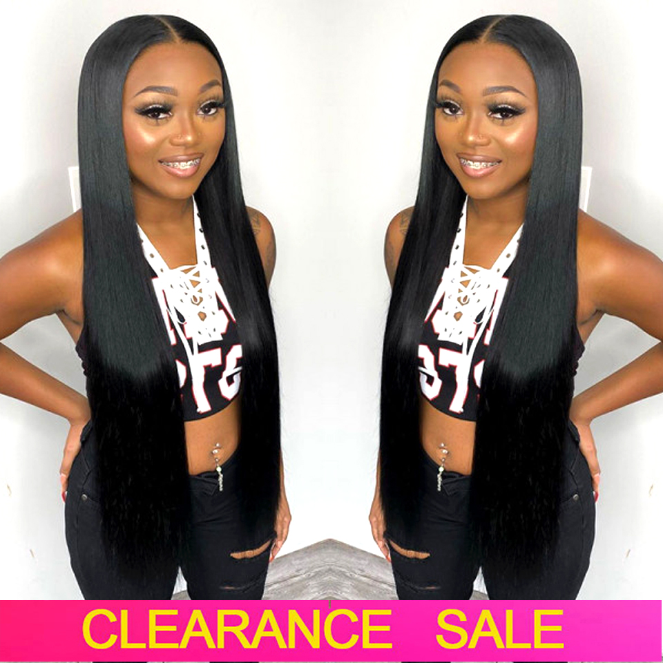 180 Density 32 30 Inch Bone Straight Lace Front Human Hair Wigs T PART Transparent Lace Frontal Wigs Brazilian Human Hair Wigs