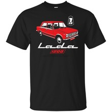 Lada 1200 Soviet Union Car USSR CCCP Kopeyka VAZ-2101 T-shirt(China)