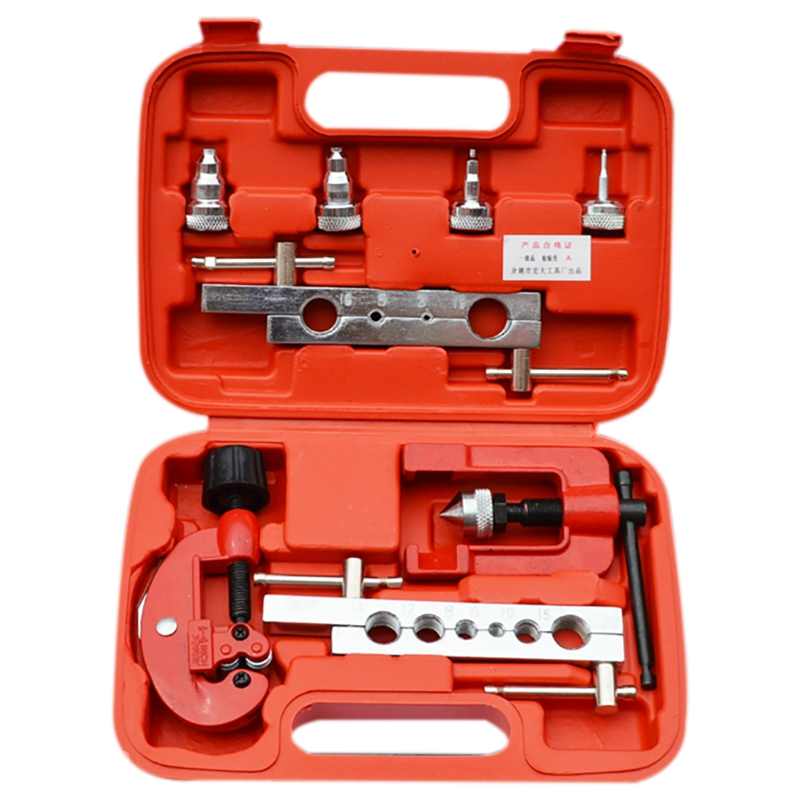 8 шт., набор инструментов для резки труб, ручная Расширительная трубка, Метрические/дюймовые расширительные мундштук, устройство для резки медных трубок|Аксессуары для электроинструментов|   | АлиЭкспресс