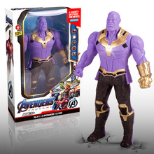 Diy Marvel Thanos Super Heroes Action Figures Captain Americ