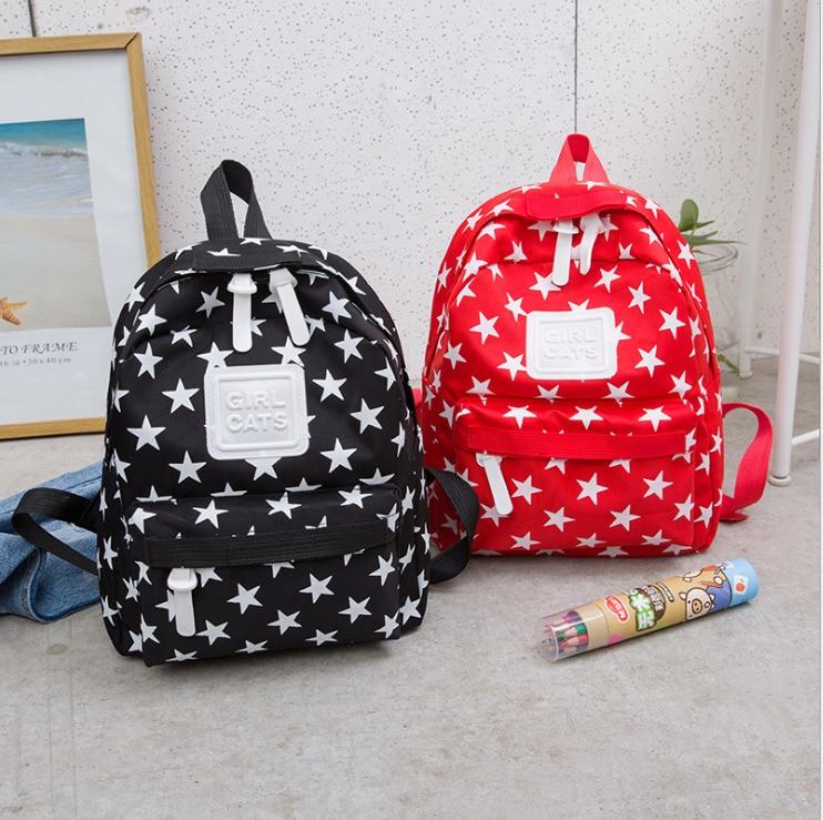 Unisex Nylon Backpack Shoulder School Book Travel Handbag Youth Rucksack Bags