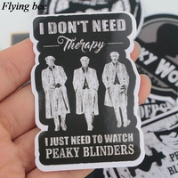 sticker motorcycle Flyingbee 18 pcs Peaky Blinders Cool Sticker men Stickers for DIY Luggage Laptop Skateboard Car Motorcycle Stickers X0729 (5)