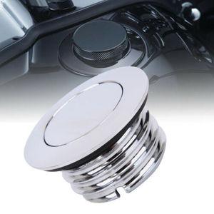 Image 1 - Motorcycle Fuel Gas Cap  Flush Pop Up Reservoir Gas Cap For Harley Davidson