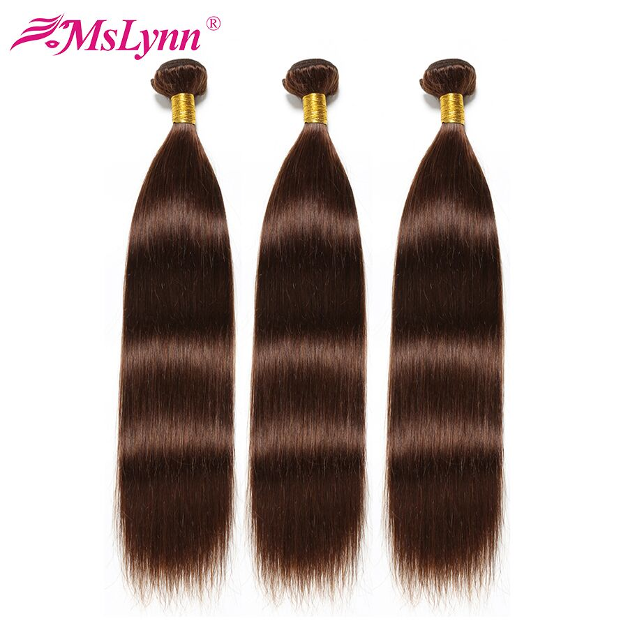 Pasma prostych włosów peruwiański człowieka wiązki włosów 3/4 Bundle oferty Mslynn włosów włosy inne niż remy splot włosów pokój wątek 2 #/4 #/ naturColor w Warkocze od Przedłużanie włosów i peruki na AliExpress - 11.11_Double 11Singles' Day 1