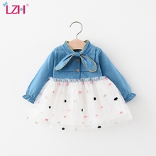 Dresses Princess-Dress Birthday Newborn-Baby Baby-Girls 18-24-Month Infant 1st-Year Autumn
