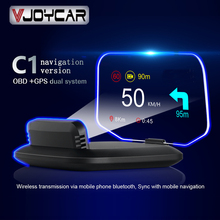 OBD2 Scanner Speedometer Navigation Car-Hud On-Board computer Projection Bluetooth GPS