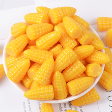 10 Pcs Stereo Simulation Corn Resin Diy Clay Slime Accessories Charm Children Interactive Tools Kids Creative Popular Toys