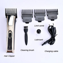 Professional Digital Hair Trimmer Rechargeable Electric Clipper Mens Cordless Haircut Adjustable Ceramic Blade Adult Razor