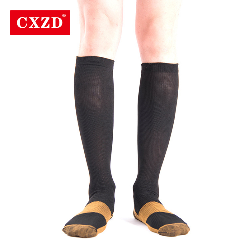 CXZD New Unisex Stockings Compression Underwear Pressure Varicose Knee High Support Tensile Pressure Cycle