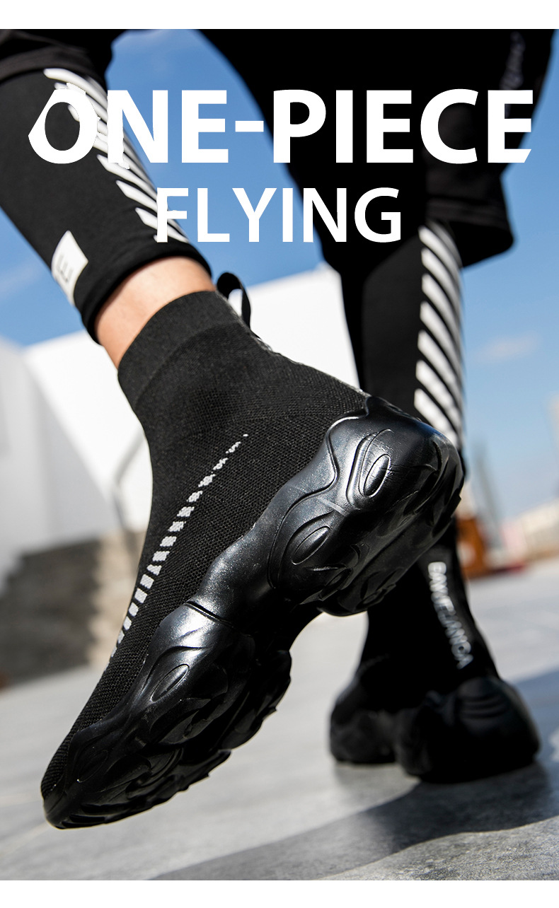 elástico, respirável, leve, slip-on, sapatos de ajuda plus size para casal 35-45