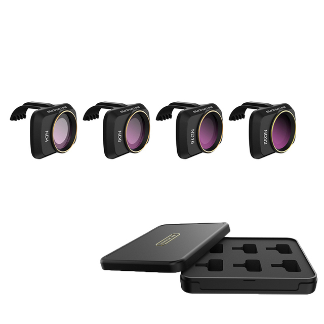4 in1 ND Filters ND4 + ND8 + ND16 + ND32 mavic mini drone Filter kit voor dji mavic mini drone Accessoires