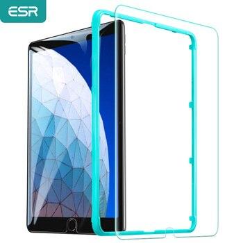ESR Screen Protector for iPad Pro 10.5/iPad Air 3 2019 Glass iPad Pro 12.9/11/9.7 iPad 7/6/5 Mini 5/4 Air 2 Air Tempered Glass