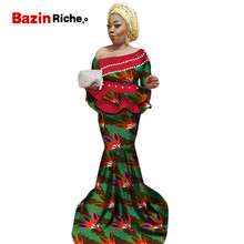 new africa dashiki skirt set african traditional clothing for women Bazin Riche plus size print ladies clothes WY2467