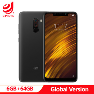"Image 1 - Global Version Xiaomi POCOPHONE F1 POCO F1 6GB RAM 64GB ROM Snapdragon 845 6.18"" Full Screen AI Dual Camera 4000mAh Smartphone"
