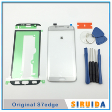 Stickers Replacement Lcd-Display S7edge Samsung Glass-Lens Touch-Screen for G935f/G935a/Lcd-display/..