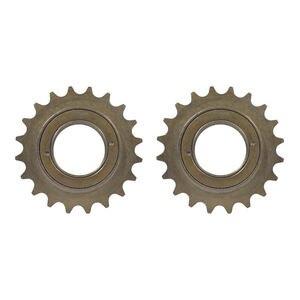 2PCS Single Speed Bicycle Freewheel 16T/18T/20T Flywheel Sprocket Gear BMX Flywheel Bicycle Accessories Durable Steel