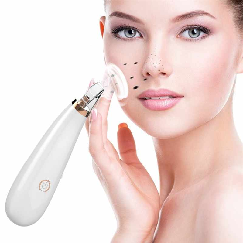 Blackhead remover  pore vacuum acne pimple removal vacuum suction tool nose face deep cleansing machine clean skin care tools