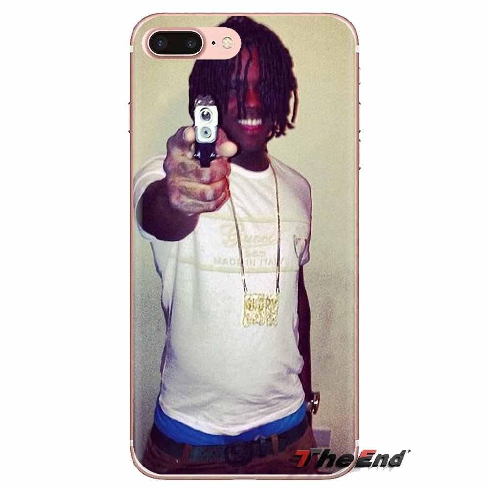 Şef Keef glo gang şarkı ve müzik iPhone XS Max XR X 4 4S 5 5S 5C SE 6 6S 7 8 artı Samsung Galaxy J1 J3 J5 J7 A3 A5