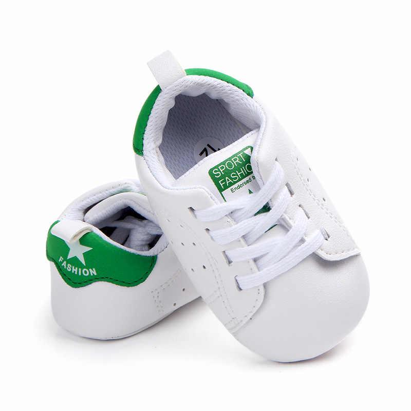 Zapatos de bebé niño niña zapatilla de deporte de algodón suave antideslizante suela recién nacido primer caminante niño Casual cuna zapatos