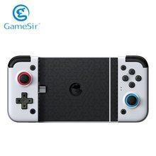 GameSir X2 Neue Version Typ-C Gamepad Pubg Handy-Spiel Controller Joystick Android Gamepad Teleskop Griff Keine Verzögerung Wolke spiel