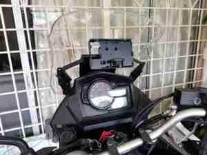 Soporte para teléfono con cargador USB para SUZUKI DL650 v-strom DL650XT Vstrom 2017-2019 Placa de navegación GPS para motocicleta