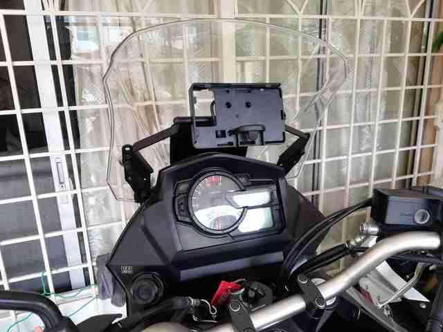 Soporte para teléfono con cargador USB para SUZUKI DL650 v-strom DL650XT Vstrom 2017-2019, placa de navegación GPS para motocicleta