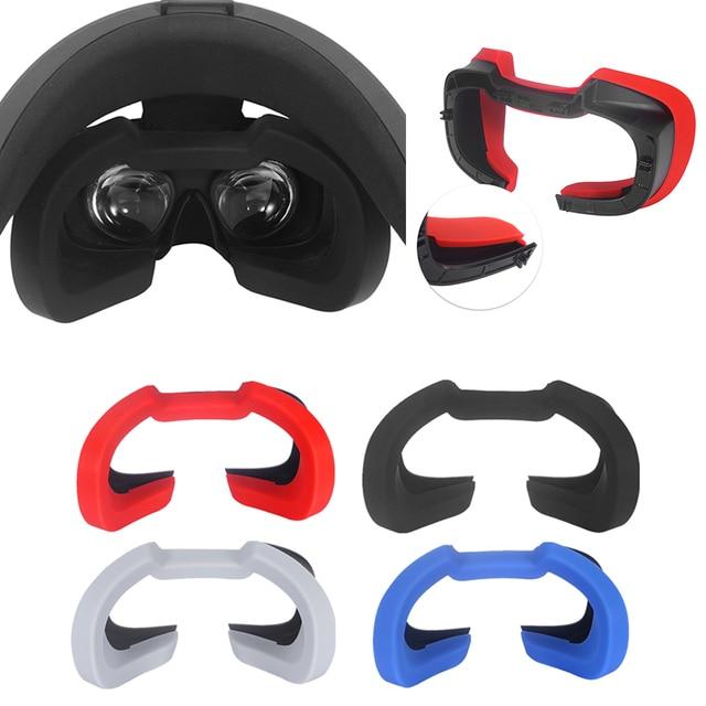 Yumuşak silikon göz maskesi kapak nefes işık engelleme göz kapak pedi Oculus Rift S VR kulaklık aksesuarları