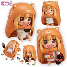 524# Himouto! Umaru-chan Anime Figure 524b# Doma Umaru Action Figure Toys Doma Umaru Figurine Collectible Model Doll Gift 10cm