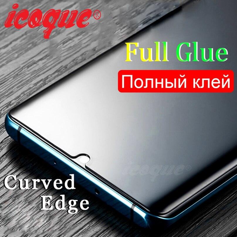 Закаленное стекло с полным клеем для Huawei P30 Pro P40 Mate 20 Pro 30 hawei P20 Lite p30pro mate20 Mate 30 20 P30 Pro, Защитное стекло для экрана