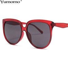 Vintage Round Sunglasses Women Luxury Brand Designer Personlity Pastic Frame Colorful Gradient Red Blue Feminino De Sol Gafas
