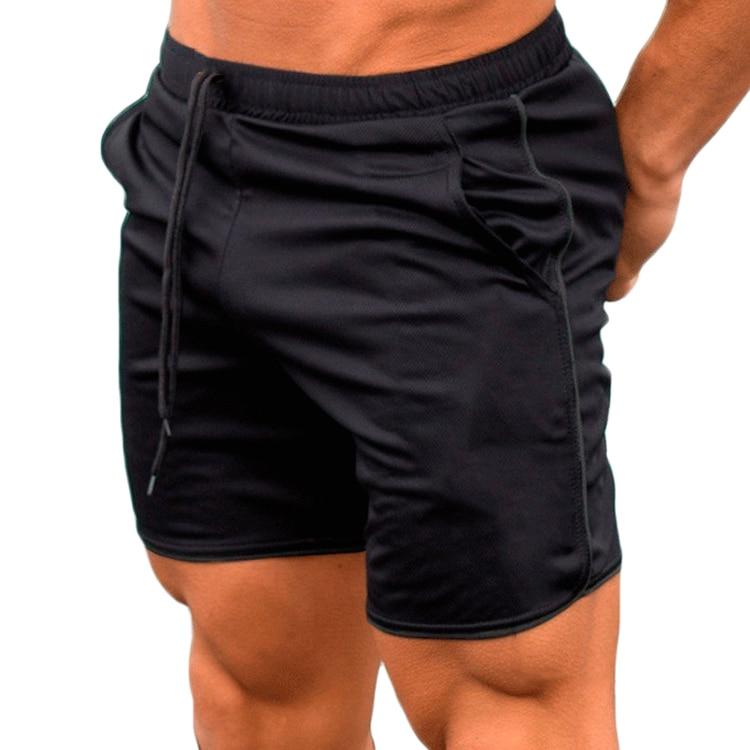 Men Sports Short Summer Casual 2020 Training Fitness Pant Bodybuilding Summer Shorts Workout Fitness GYM Short Pants