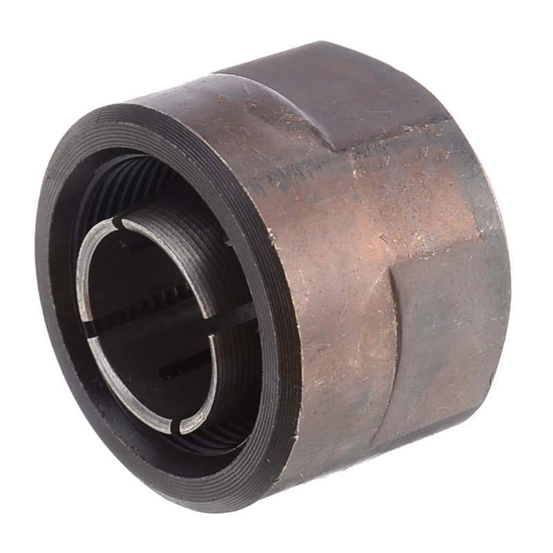 """1pc 1/2"""" Collet Nut Plunge Router Parts Black Metal 22.5x27mm with High Hardness"""
