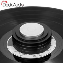 Douk Audio Aluminum Alloy LP Disc Stabilizer for Turntables Record Weight / Clamp Vibration Reducer for Home Record Player(China)