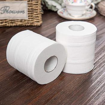 12Roles/pack Toilet Paper Bulk Rolls Bath Tissue Bathroom Care Rolling Paper PersonalHealth Papier White Product Wc Soft C9U2
