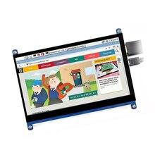 7-дюймовый ЖК-Дисплей HDMI USB 1024*600 HD, емкостный сенсорный экран, портативный монитор, аксессуар для Raspberry Pi drive-free