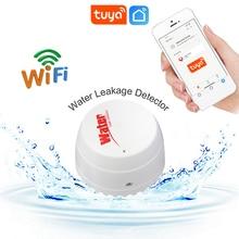 WiFi TUYA Water Leak Detector Flood Sensor Water Tank Full Water Linkage Alarm Smart Life APP Remote Monitoring