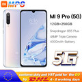Xiaomi Mi 9 pro (5G) 12GB 256GB Smartphone Mi9 pro 5G Snapdragon 855plus 5G 48MP Triple Cameras 4000mAh Battery AMOLED 6.39 ''