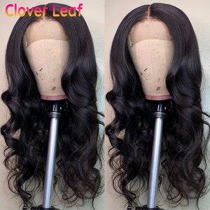 Image 5 - Vücut dalga dantel ön peruk doğal saç çizgisi insan saçı peruk vücut dalga brezilyalı ön koparıp dantel ön İnsan saç peruk kadınlar için