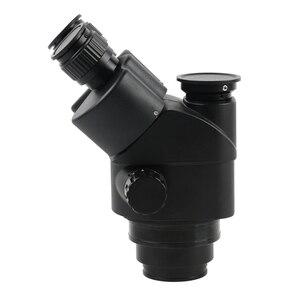 Image 2 - Simul Focal 3.5 90Xต่อเนื่องซูมกล้องจุลทรรศน์สเตอริโอTrinocular Head WF10X 20สายตายาวยางEye Guards