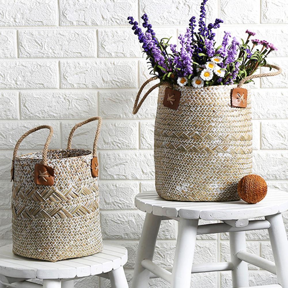 Eco Friendly Lavender Vase Woven Sundries Storage Baskets Eco Friendly Home Baskets » Planet Green Eco-Friendly Shop